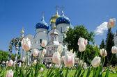 Trinity Lavra of St. Sergius in Sergiyev Posad — Stock Photo