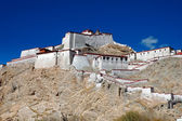 Old Tibetan Fort in Gyantse, Tibet — Stock Photo