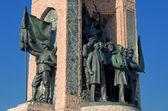 Taksim Monument of the Republic — Stock Photo