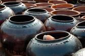Clay jars — Stock Photo