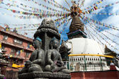 Buddhist Kathesimbhu Stupa — Stock Photo
