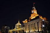Bund at night, Shanghai, China — Stock Photo