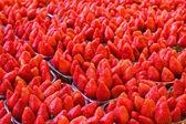 Much ripe strawberries — Stock Photo