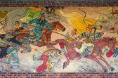 Chinese mural paintings — Stock Photo