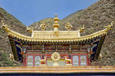 Buddhist Labrang Monastery — Stock Photo