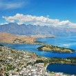 Stock Photo: Queenstown and Remarkables, New Zealand