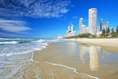 Surfers Paradise beach — Foto Stock
