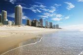 Praia de surfers paradise — Foto Stock