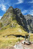 Mackinnon Pass, New Zealand — Stock Photo