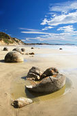 The Moeraki Boulders — Stock Photo