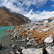 Stock Photo: Gokyo village in Himalayas, Nepal
