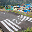 Lukla airport - Stock Photo