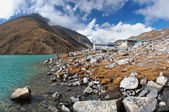 Gokyo village in Himalayas, Nepal — Stock Photo