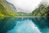 Lake Marian, New Zealand — Stock Photo