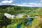 Hydro electric powerplant — Stock Photo