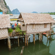 Stock Photo: Fishing village, Thailand