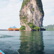 Discover Thailand on the boat — Stock Photo