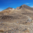 Stock Photo: Tongariro Alpine crossing