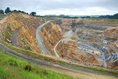 Gold mine — Stock Photo