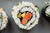 Home made Maki Sushi — Stock Photo