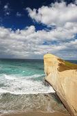 Tunnel beach, New Zealand — Stock Photo