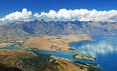 Queenstown and the Remarkables, New Zealand — Zdjęcie stockowe
