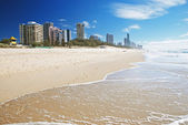 Surfers Paradise beach — Stock Photo