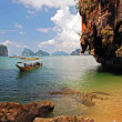 Explore Thailand on Dragon boat - Stock Photo