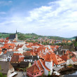 Cesky Krumlov, Czech republic — Stock Photo #13122561