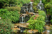 Waterfall in a park, Thailand — Stock Photo