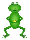 Tsarevna-frog — Stock Photo
