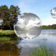 Sky bubbles — Stock Photo