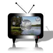 Televisor — Stock Photo