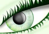 Unusual eye — Stock Photo