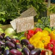 Stock Photo: Vegetable stand at market in Italia