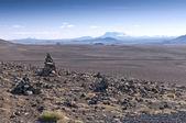 Volcanic landscape, Iceland — Stock Photo