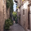 Narrow street with old houses — Stock Photo #13674057