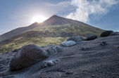 Volcanic island of Stromboli — Stock Photo