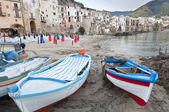 Harbour in Cefalu — Stock Photo