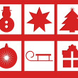 Xmas Icons - Stock Vector