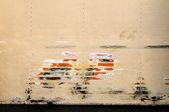 Scraped paint background — Stock Photo