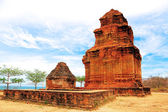 Cham tower, Vietnam — Stock Photo
