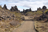 Dimmuborgir, Iceland — Stock Photo