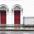 Stock Photo: An entrance doors