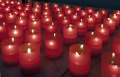 Lighted candles — Stock Photo