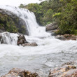 A waterfall, Horton Plains, Sri Lanka - Stock Photo