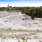 Amphitheater - Syracuse Sicily — Stock Photo
