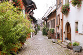 Gothic town in France — Stock Photo