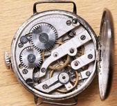 Un mouvement d'horlogerie — Photo