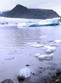Een gletsjer — Stockfoto